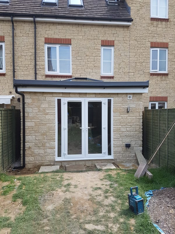 Rear extension