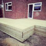 Decking in Abbeymead, Gloucester