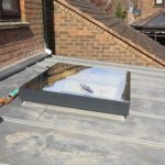 Roof and patio lay in Hartpury